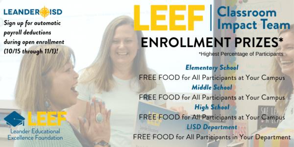 Leander ISD Staff Open Enrollment