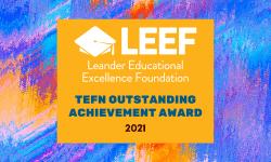 Texas Education Foundation Network Award